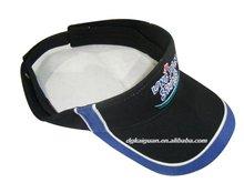 100%cotton twill fashion sun visor