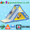 inflatable float water slide, inflatable slide for lake