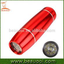 Cheap high quality 9led aluminum chinese led flashlight