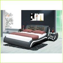 modern low price high headboard bed middle east furniture