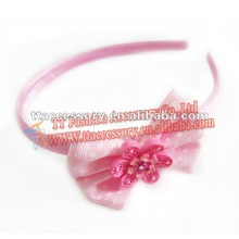2013 baby girl pink bow headbands hair accessory wholesale