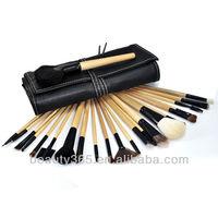 24 PCS professional private Makeup Brush Set With Black Case