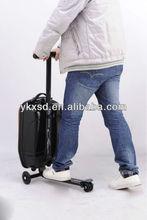 trolley luggage, wheeled luggage,traveling luggage(one single aluminum bar)
