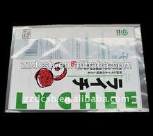 LDPE Plastic frozen food vacuum packing Bag