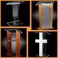 Acrílico púlpito fabricação de móveis, Acrílico igreja pódios