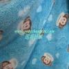 100polyester soft printed coral fleece for blanket/baby/bathrobe