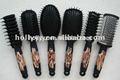 2014 venta caliente nuevo diseño de cepillo de pelo con doble ronda de cepillos para el cabello