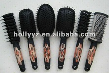 2014 Hot sale new design hair brush with double round hair brushes