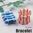 2012 fashion colored elastic wood bracelet