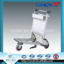 Light duty luggage trolley