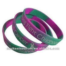 Personalized team silicone bracelets