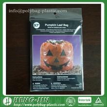 Walmart Halloween Giant Pumpkin Leaf Bag Trash Bag