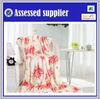Printed fleece blanket factory china