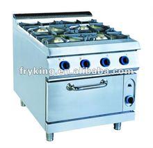 Gas Range 4-burners&Gas Oven