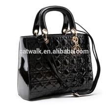Catwalk01965 China wholesale fashion elegance ladies hand bags / women shoulder bags black color