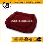 Soft plush large dog bed