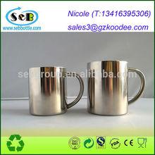 "Stainless Steel Coffee Tea Mug Cup-Camping/Travel-3.5"" high x 4"" diameter"
