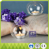 wedding family decoration clear glass bubble and candle holders