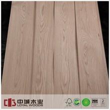 Masterpiece E-Shape lines AA natural White Oak wood veneer for Plywood face veneer