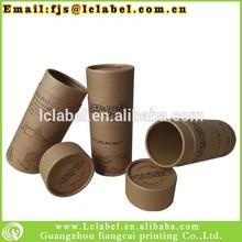 Eco-friendly kraft paper tube box kraft paper box