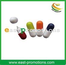 mini promotional slogan novelty pill pens for kids