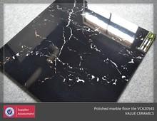 black tile marble tile,polished marble flooring tile
