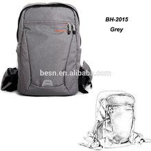 Besnfoto BN-2015 Original Design Grey Professional SLR Camera Digital Backpack for Canon, Nikon