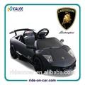 con licencia de lamborghini paseo en niños eléctrico del coche con mando a distancia en paseo de energía eléctrica del coche