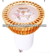 2012 hot sale 3w GU10 Led spot light