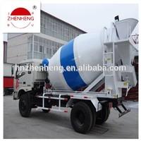 New condition hot sale concrete mixer truck price