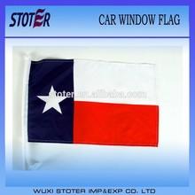 USA texas state car flag