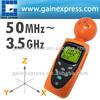 38mv ~ 11v/m Range Taiwan Made Tester w/ 200 data sets memory/Digital 3-AXIS EMF RF Radiation ElectroSmog Power Isotropic Meter