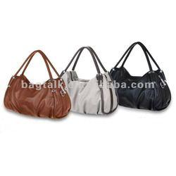 2013 New PU leather Shopping Handbag/ Tote bag