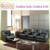 modern genuine leather recliner sofa set living room furniture