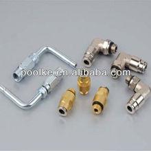 High pressure brass hose fitting