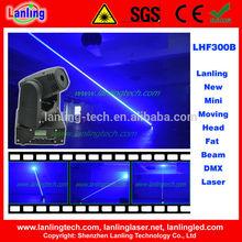 New laser light show Mini Moving Head Laser Fat Beam DMX Laser