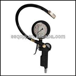 Plastic body Air Tire Inflating Gun with pressure gauge porpular model