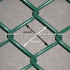 Cheap price Green pvc coated Chain link mesh fence