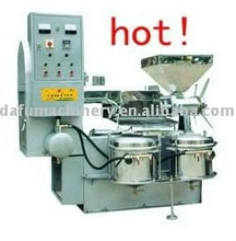 new type2-5t/day screw vacuumed crude edible oil extraction/expeller and accessory with direct manufacture