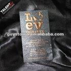 custom high embossed paper business name card printing