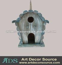 antique hangingwood bird house