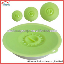 Eco-friendly kitchen tool for 2012. newest and fashional silicone lid