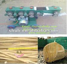 motor, diesel engineer driven willow peeling machine /wicker peeling machine 0086-15838061759