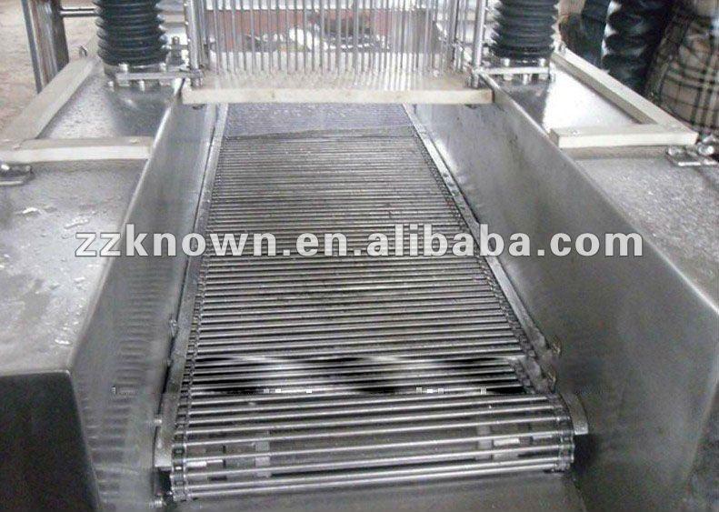 Aguja de máquina de inyección de salmuera con 1000 kg por hora