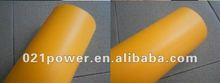 1.52M Width Yellow Car Matte Vinyl Film Wraps With Air Free Bubbles