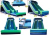 2013 hot sale inflatable water slide with climbing