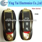 Wholesale QUAD-BAND flip car key phone F388 small size mobile phone