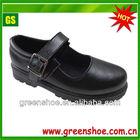 High quality girls' uniform black school shoes