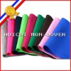 100% polyester coloured needle punched good quality color felt