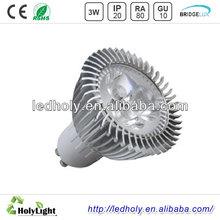 3W high power led low heat no uv led light bulb